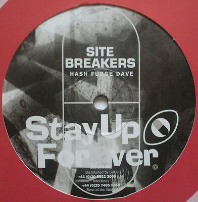 "Site Breakers-Hash Fudge Dave/Porridge Pete 12"" *Stay up forever* Acid techno"