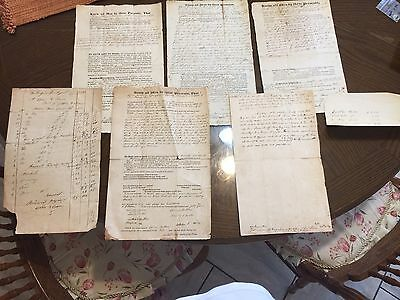 Lot Of 1830s And 40s New Hampshire Documents
