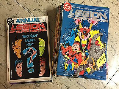 Legion of Super-Heroes 1-63 almost complete series run