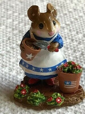 Wee Forest Folk Patient Lucy, red/white/blue limited