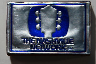 The Nashville Network Wooden Matches Box Unused Country Music Usa Match Book Mb2