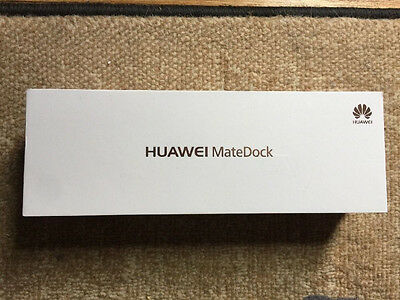 Huawei MateDock USB-C Multiport Adapter (Black) Brand New, Sealed, Free Shipping