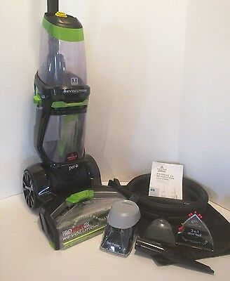 Bissell ProHeat 2X Revolution Pet Full Size Carpet Cleaner 1548p w/ Attachments