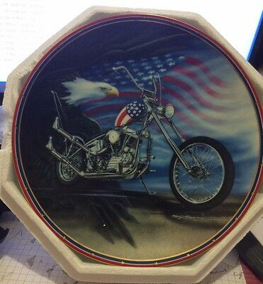Easy Rider EAGLE PLATE HAMILTON COLLECTION #1002 made in USA