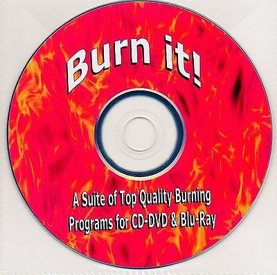 FREE Nero 9 CD with the Burn it! CD/DVD/Blu-Ray Burning Software CD