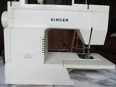 Singer 6212C heavy-duty sewing machine with foot pedal