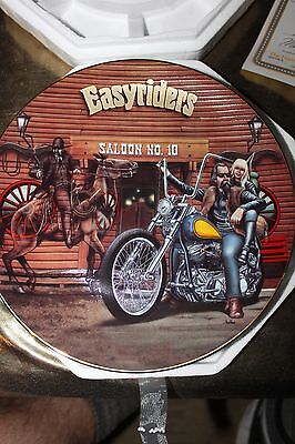 Easy Rider Hamilton Collection Plate Ghost Of The Saloon