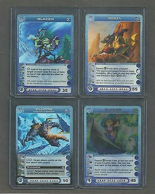Lot Of 12 Chaotic Overworld Cards
