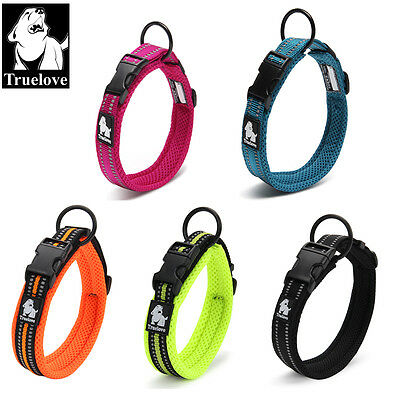 Mesh Padded Soft Nylon 3M Reflective Dog Collar
