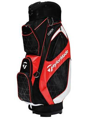 Taylormade Corza 2016 Golf Bag - Black/red/silver - New - Value Plus!