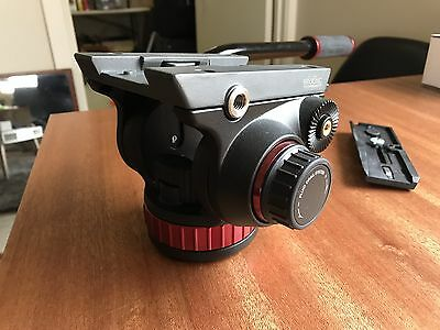 Manfrotto MVH502AH Professional 502HD Fluid Head Flat Base