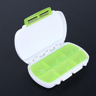 6 Days Weekly Pill Box Travel Medicine Storage Case Holder Container Organizer