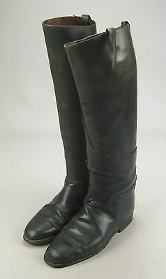 Antique British Made Rowell & Sons Melton Mowbray Cavalry Riding Field Boots