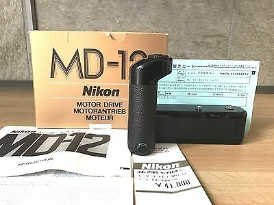 【RARE !! NEW in Box】Nikon MD-12 Motor Drive from Japan