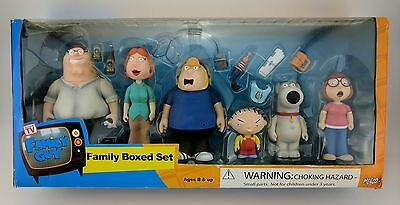 Family Guy Mezco Original Unopened 2005 Boxed Set NIB