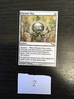 MTG. Magic the Gathering. Chrome Mox. NM. Mirrodin.