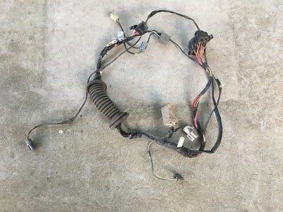 92 - 96 Ford F150 F250 F350 Bronco Ex Cab XLT Power Driver Door Wire Ford F Door Wiring Harness on ford generator wiring diagram, ford wiring color codes, ford truck wiring diagrams,