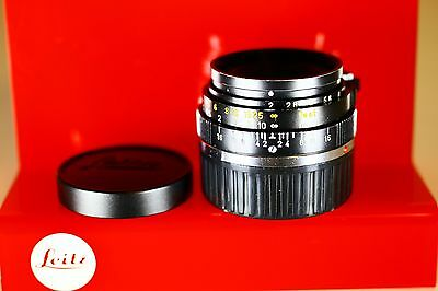 Leica 35mm F2 Summicron-M 2nd Version Made in Wetzlar Germany RARE!!!