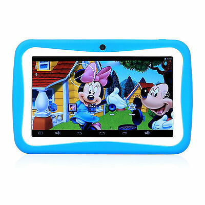"7"" Android 5.1 Quad Core A33 Child Tablet PC 8G Wifi + OTG for Kids Dual Camera"