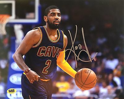 Kyrie Irving Cleveland Cavaliers Hand signed 8x10 photo COA