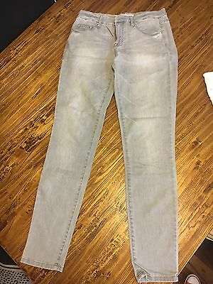 Country Road Grey Mid Rise Jeans Sz 8