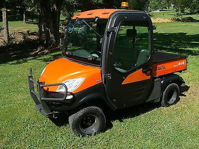 Kubota 2011 RTV 1100 Diesel 4WD Utility Vehicle with Heat and Air
