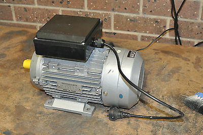 Single Phase Electric Motor 240v 1.5 kW 2 HP 1400rpm