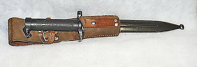 Superior WWII Model 1896 Swedish Crown C EJAB 563 Knife With Frog
