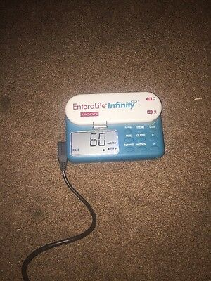 Zevex EnteraLite Infinity Moog Nestle Light Weight Portable Enteral Feeding Pump