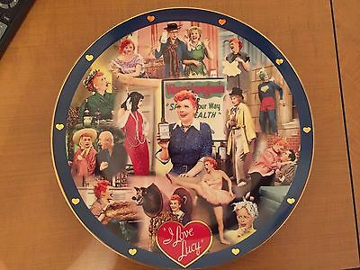 I Love Lucy Lucille Ball Tribute Plate - Danbury  - Extremely Rare