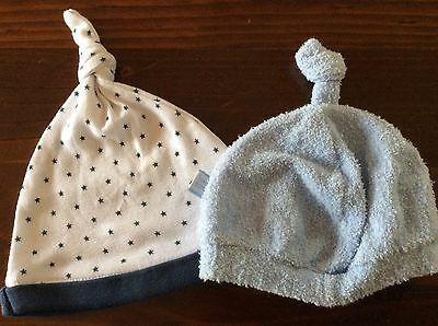 Baby boys beanies, GUC, size 000-00 - Bonds, Cotton on baby