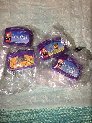 Leap pad Leap Frog Scoobydoo Toy story Games