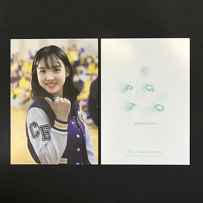 TWICE | Nayeon | <Page 2 Monograph> photocard postcard | *OFFICIAL