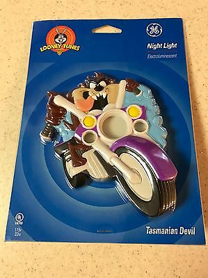 Warner Brothers Looney Tunes TASMANIAN DEVIL / TAZ Night Light by GE