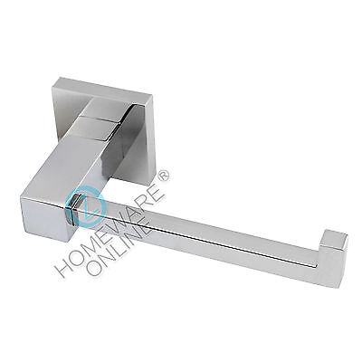 Chrome Toilet Paper Tissue Roll Holder Rack Hook Wall Mounted SS304 Bathroom NEW