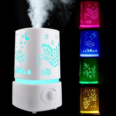 1.5L Ultrasonic Home Aroma Humidifier Air Diffuser Purifier Lonizer Atomizer US