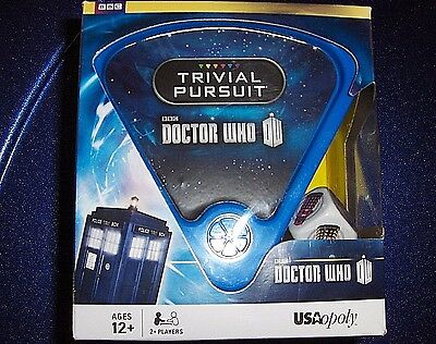 BBC DOCTOR WHO TRIVIAL PURSUIT FACTORY SEALED NEW IN BOX by USAopoly FREESHIPPIN