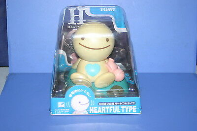 TOMY Nohohon Zoku Heartful Type Eco Solar Series Hidamari No Tami Blue heart