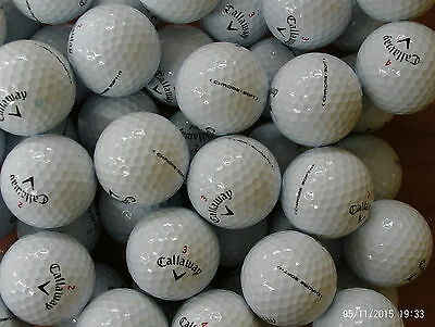 100 Callaway Chrome Soft Golf Balls A/pearl  Grade - Superb Quality