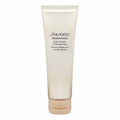 Shiseido Benefiance Extra Creamy Cleansing Foam 125ml Skincare Face Wash