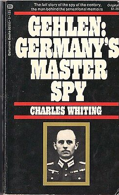 Gehlen: Germany's Master Spy by Charles Whiting