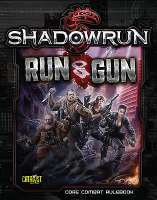 Shadowrun 5th Edition Role Playing Game - Run & Gun Supplement - Brand New