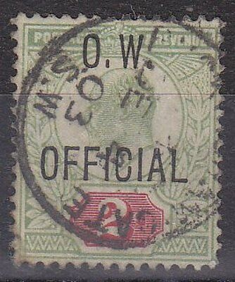GB KEVII - SG O38 - Office of Works OFFICIAL 2d - good used - Cat £450