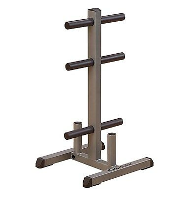 Body-Solid Olympic Weight Tree & Bar Rack (Nearly New)