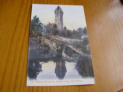 TOP580 - Postcard - The Wallace Monument, Abbey Craig near Stirling