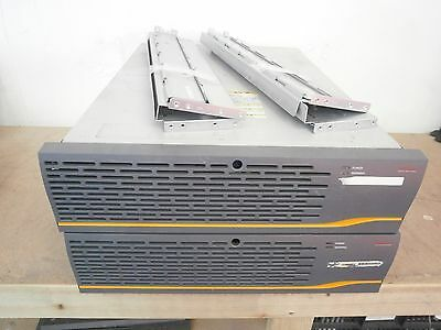 2 x Hitachi DF700-RKAJ Fiber Hard Drive Storage Array 14xCaddie 2 x 3272170-B !