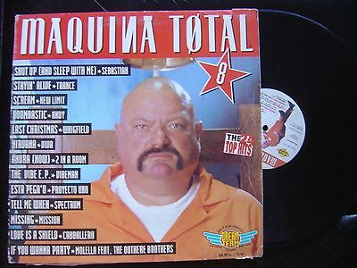 V.a*maquina Total 8*triple Lp Max Music 1995*electronic Trance House