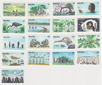 (K33-9) 1978 Nauru 17set of definitive stamps 1c to $5 (A) MUH