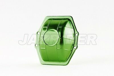 Jazrider Aluminum Differential Cover Case(Green)For Axial Wraith/SMT10/RR10/Yeti