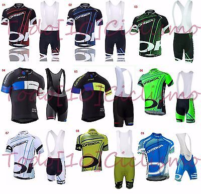 Ropa ciclismo Orbea cycling set Conjunto maillot culotte biciclet BTT MTB Bike